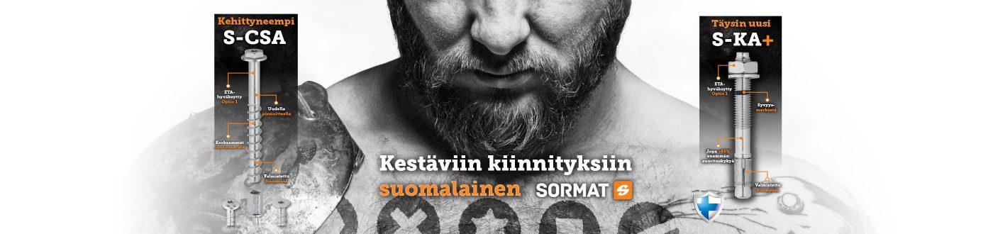 Kestäviin kiinnityksiin suomalaine Sormat