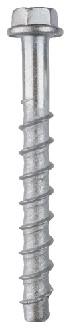 S-CSA+ HEX betoniruuvi raskaaseen kiinnittämiseen